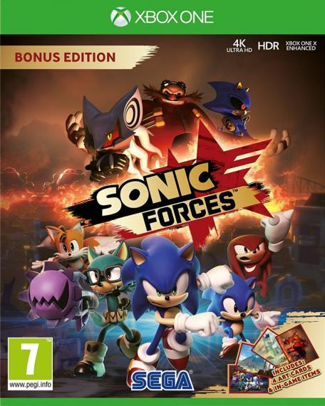 Sonic Forces Bonus Edition PL XBOX ONE