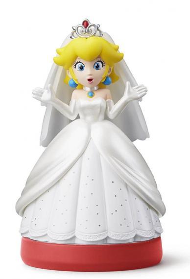 Figurka Amiibo Super Mario - Wedding Peach