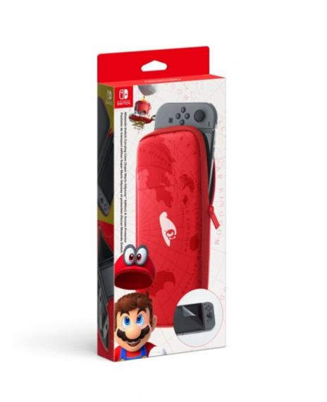 Pokrowiec do konsoli z motywem Super Mario Odyssey SWITCH