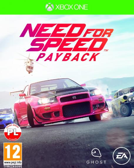 Need for Speed Payback PL XBOX ONE