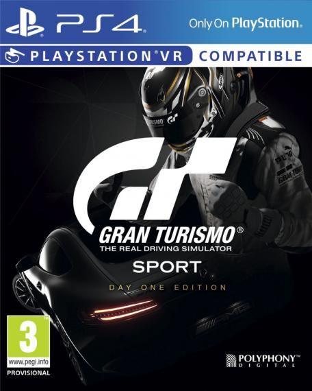 Gran Turismo Sport Day One Edition PL PS4 + Steelbook