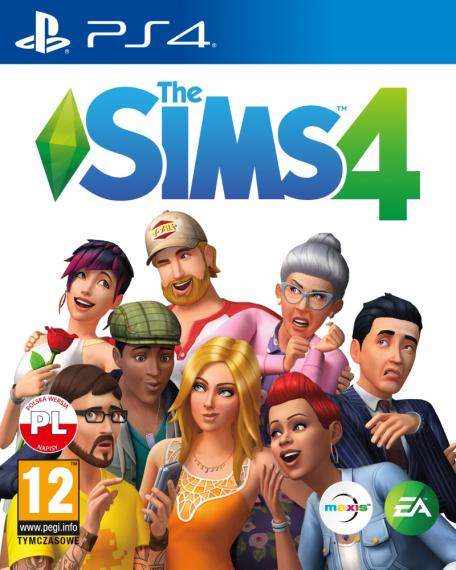 Sims 4 PL PS4