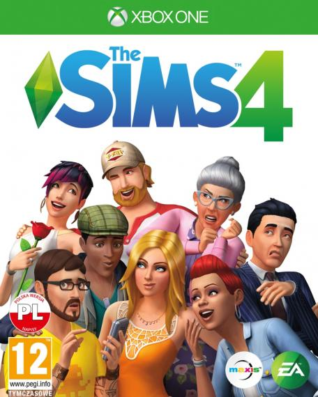 Sims 4 PL XBOX ONE
