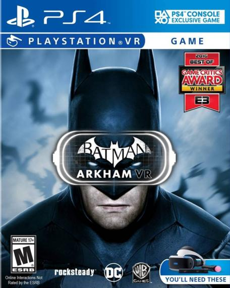 Batman Arkham VR PL PS4