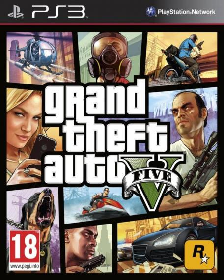 Gta V Grand Theft Auto V PS3