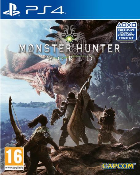 Monster Hunter World PL PS4