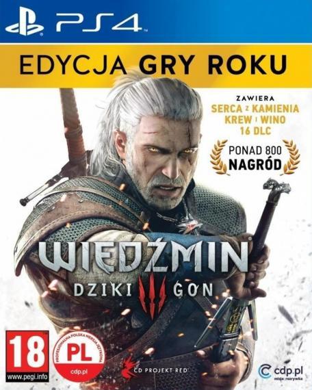 Wiedźmin 3: Dziki Gon Edycja Gry Roku GOTY PL PS4