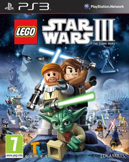 LEGO Star Wars III The Clone Wars PS3