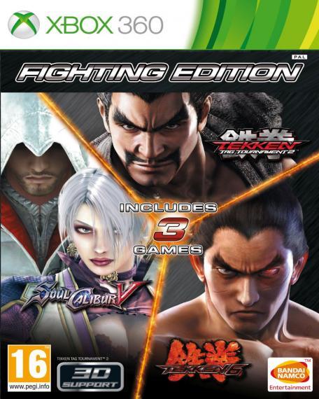 Fighting Edition Kolekcja Bijatyk XBOX 360