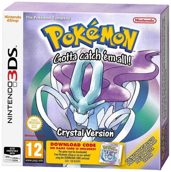 Pokemon Crystal Edition DCC 3DS