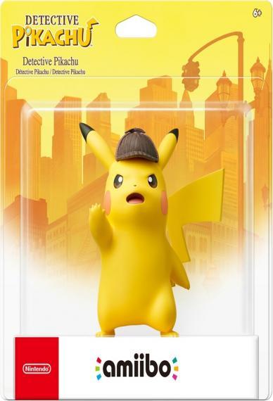 Figurka Amiibo Detective Pikachu 13 cm.