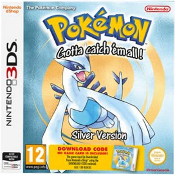 Pokemon Silver Edition DCC 3DS