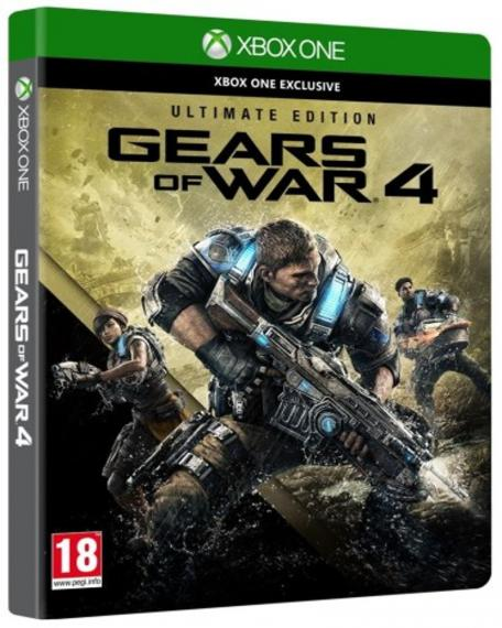 Gears of War 4 Ultimate Edition PL XBOX ONE