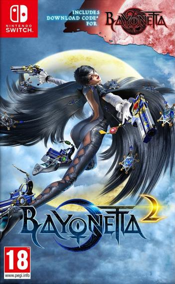 Bayonetta 2 + DCC Bayonetta 1 SWITCH