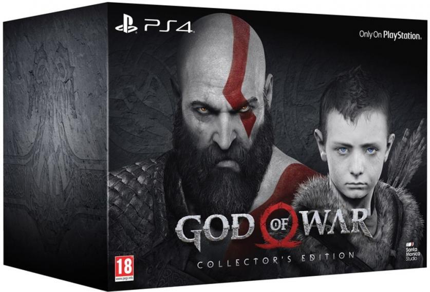 God of War Edycja Kolekcjonerska PL PS4