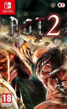 Attack On Titan 2 A.O.T. 2 SWITCH
