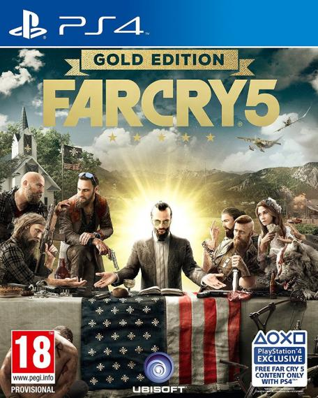 Far Cry 5 Gold Edition PL PS4