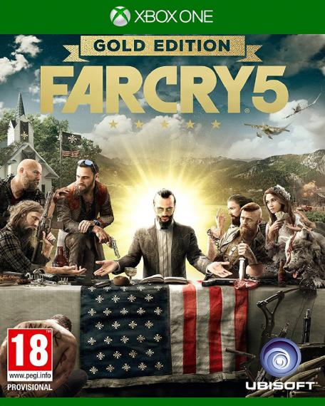 Far Cry 5 Gold Edition PL XBOX ONE