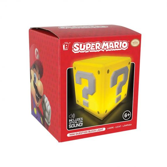 NINTENDO - Mini Question Block Light - Mini Lampka Question Block