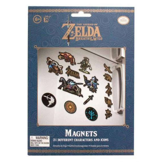 ZELDA - The Legend Of Zelda Magnets - Magnesy na lodówkę