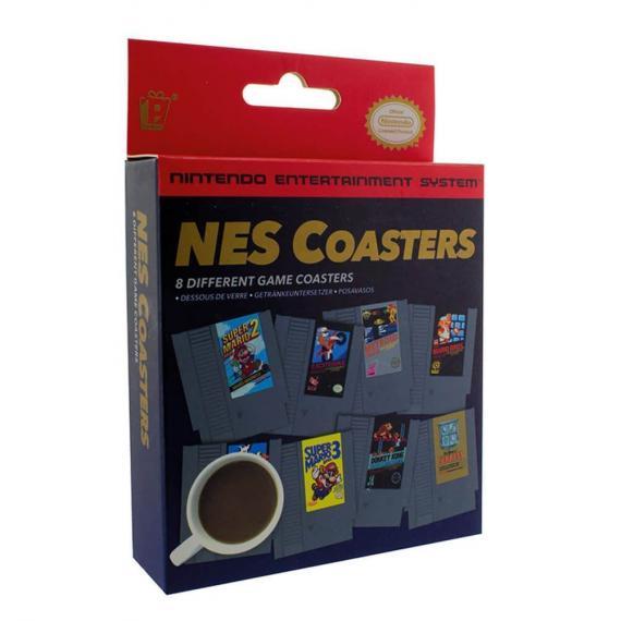 NINTENDO - NES Cartridge Coasters - Podkładki
