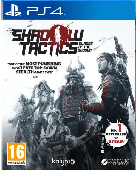 Shadow Tactics PL PS4