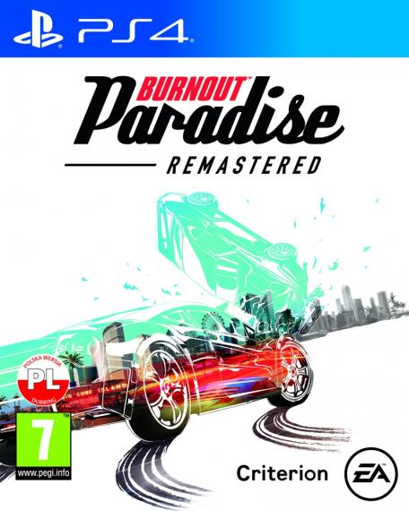 Burnout Paradise Remastered PL PS4