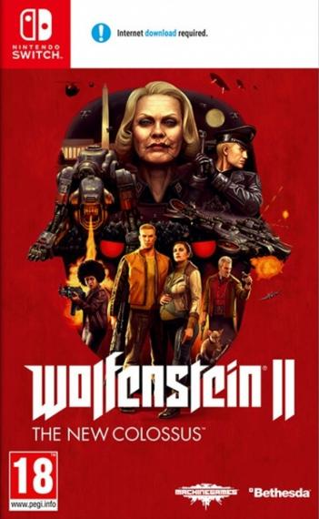 Wolfenstein 2 II The New Colossus SWITCH