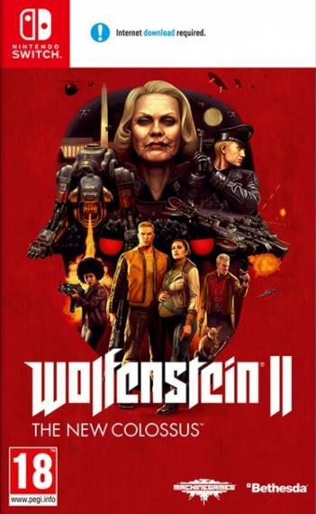 Wolfenstein 2 II The New Colossus SWITCH