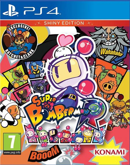 Super Bomberman R Shiny Edition PS4
