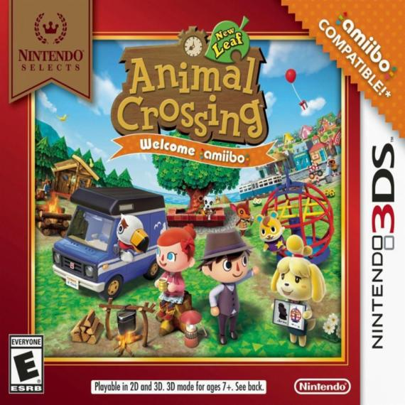 Animal Crossing New Leaf-Welcome amiibo Selects