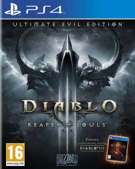 Diablo 3 Reaper Of Souls Ultimate Evil PL PS4