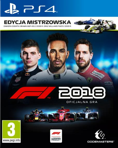 F1 2018 Day One Edition + Dlc + Steelbook