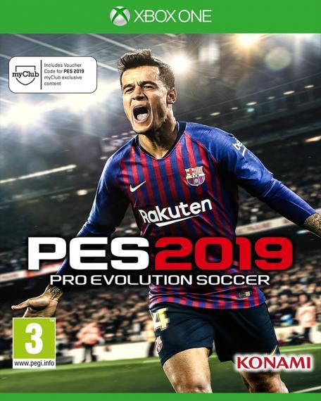 PES 19 Pro Evolution Soccer 2019 XBOX ONE