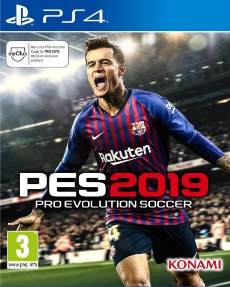PES 19 Pro Evolution Soccer 2019 PS4