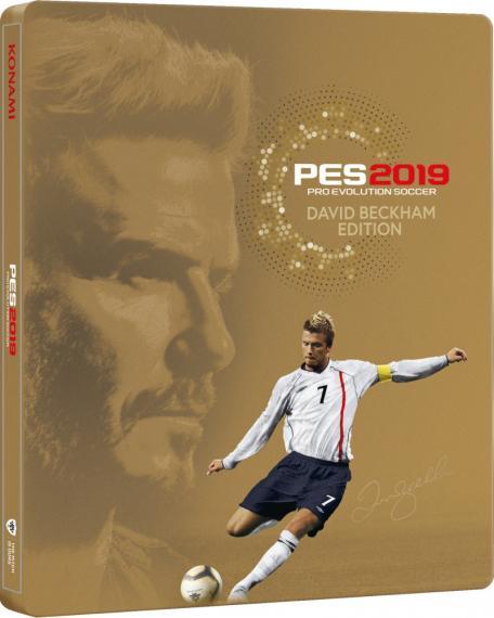 PES 19 Pro Evolution Soccer 2019 David Backham Edition PS4