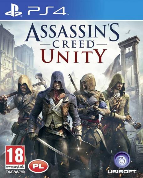 Assassin's Creed Unity PL PS4