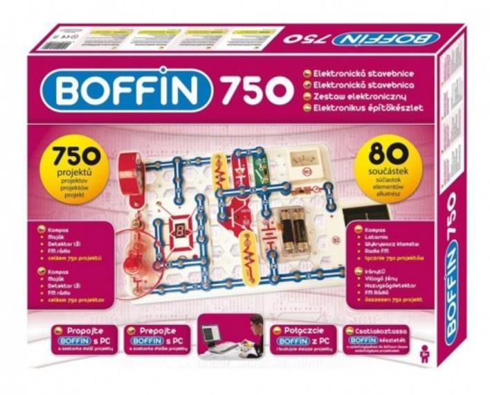 Zestaw Mały Elektronik Boffin I 750