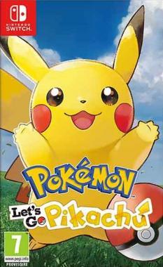 Pokémon Let's Go Pikachu! SWITCH
