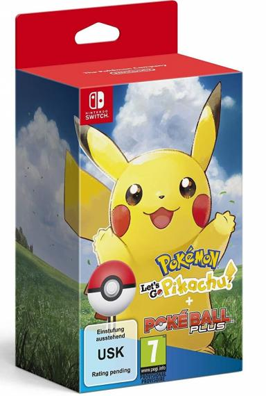 Pokémon Let's Go Pikachu! + Poké Ball Plus SWITCH