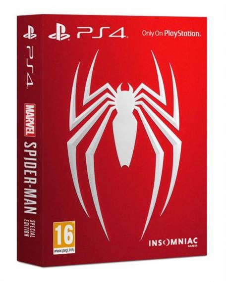 Spider-Man Edycja Limitowana PL PS4