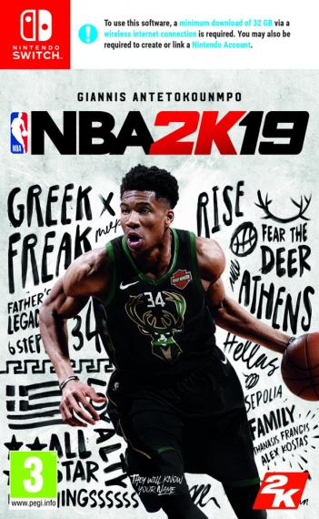 NBA 2K19 SWITCH + Bonus