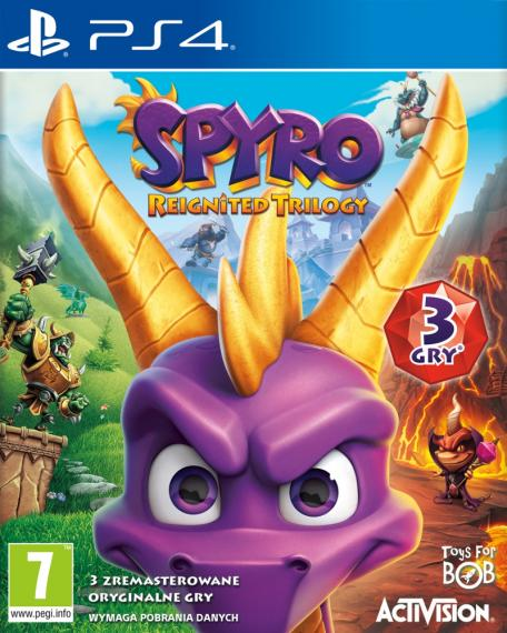Spyro Reignited Trilogy PL PS4