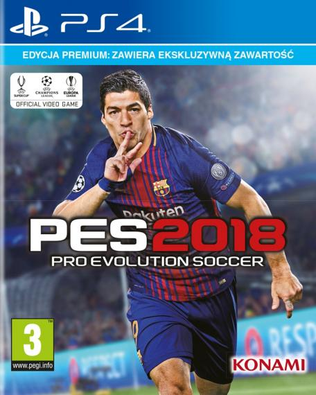 PES 18 Pro Evolution Soccer 2018 PS4