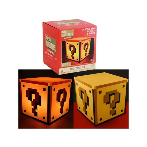NINTENDO - Mini Question Block Light - Mini Lampka Question Block
