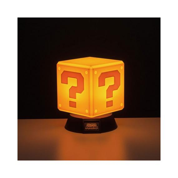 NINTENDO - Lampe 3D Super Mario Power-Up 10cm