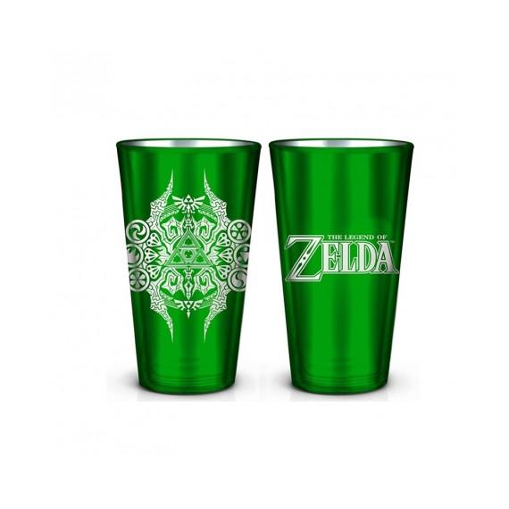ZELDA - Green Pint Glass 480 ml