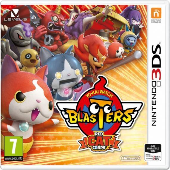 Yo-Kai Watch Blasters Red Cat 3DS