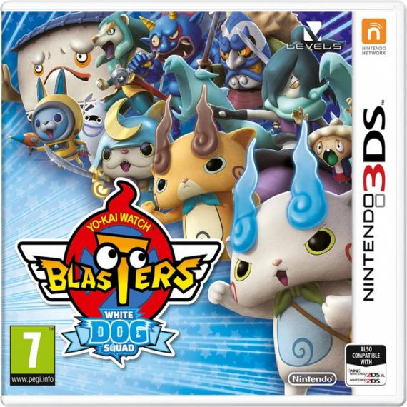 Yo-Kai Watch Blasters White Dog 3DS