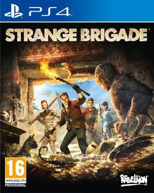 Strange Brigade PL PS4